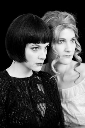 amy staats as mary, diana ruppe as louise, photo by rose callahan